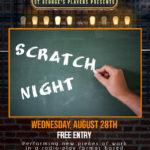 28th August – Scratch Night